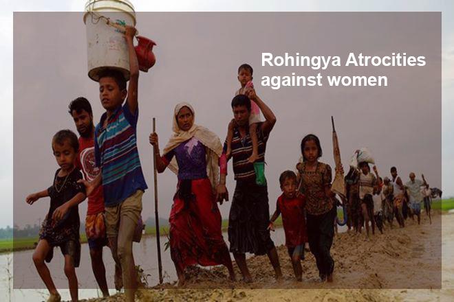 Rohingya Atrocities against women